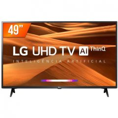 "Smart TV LED 49"" Ultra HD 4K LG 49…"